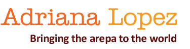 Adriana Lopez | BLOG  // Pica Pica Arepa Kitchen logo